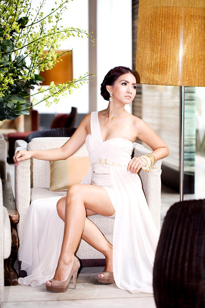 Female model photo shoot of somrutai sreenak by Romantic Photographic in Millennuim Hillton