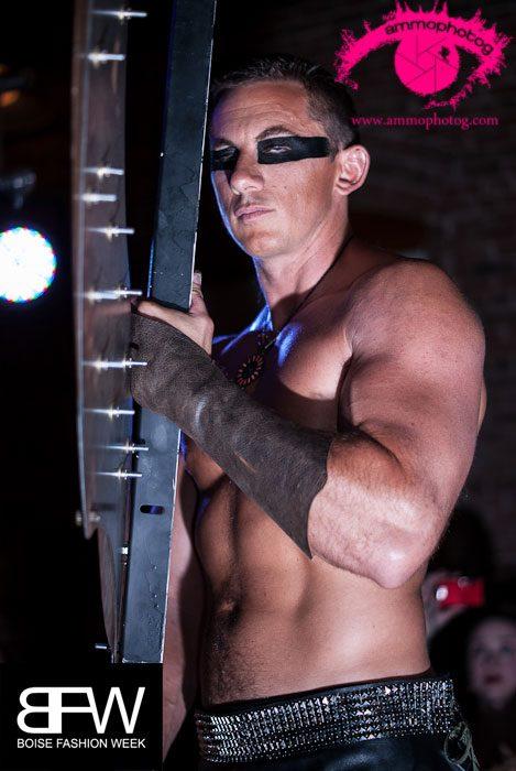 Male model photo shoot of Sharkbite in Boise Power House Event Center