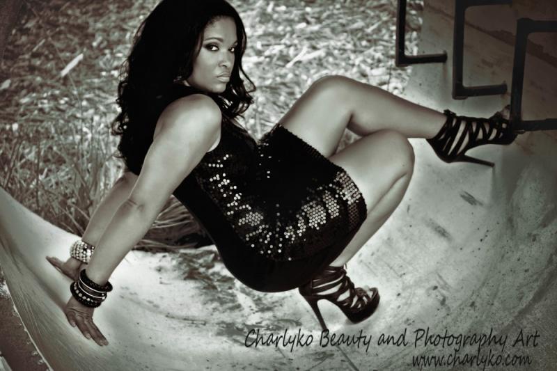 Female model photo shoot of Charlyko in durham nc