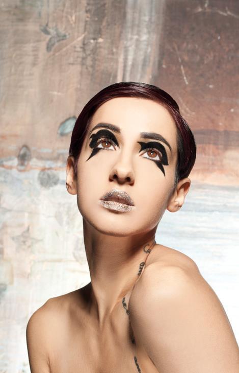 Female model photo shoot of Hayley Fell MUA