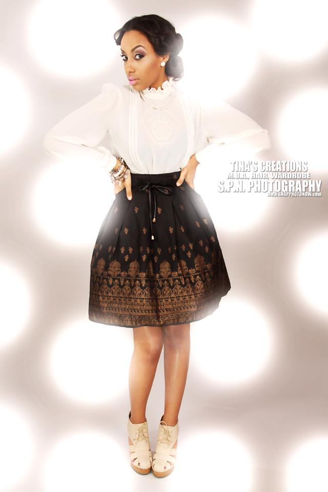 Female model photo shoot of Kimora