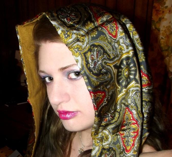 Female model photo shoot of MUA-Stylist Heather