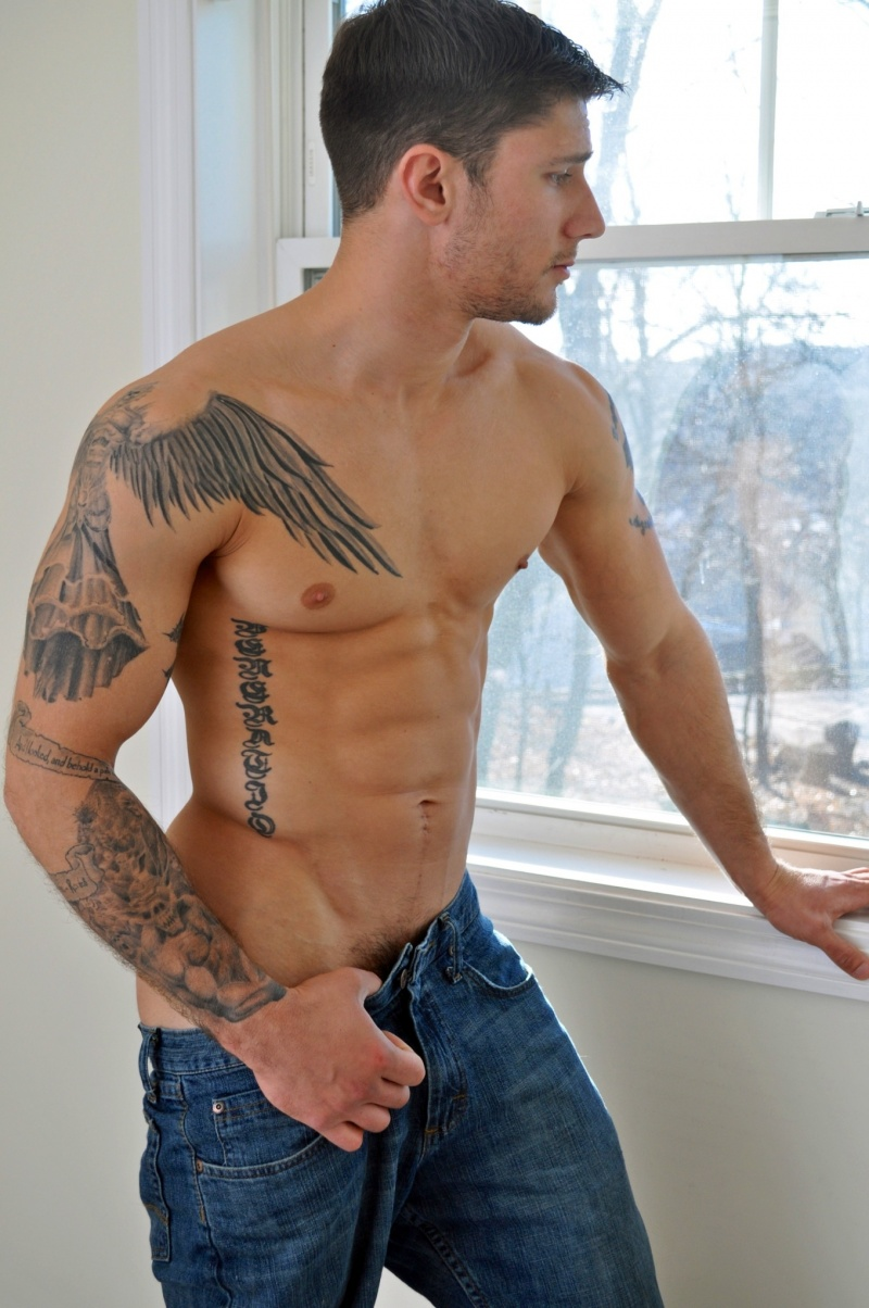 Adult good looking model the