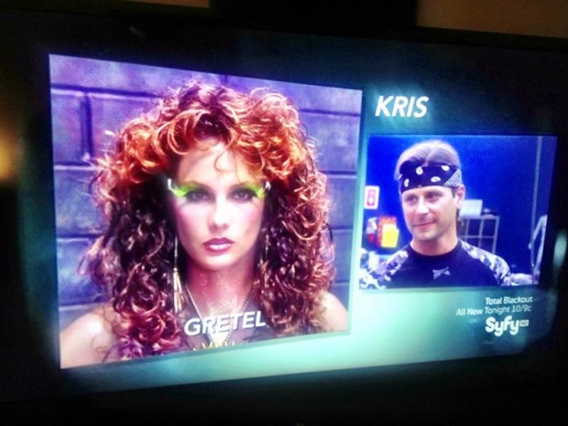 Los Angeles, CA Feb 24, 2013 Face Off Season 4 Episode 6 Kris turned me into a kick ass Gretel!