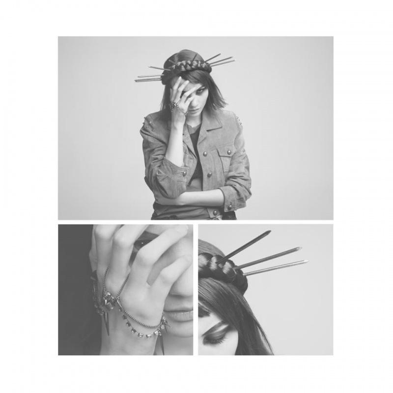 Female model photo shoot of Maison Bizarre and Deborah Parcesepe by Riccardo La Valle