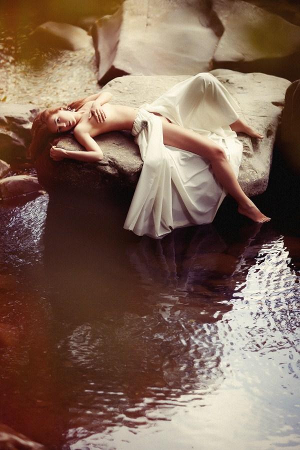 Female model photo shoot of Maison Bizarre and Kristina Guzar by Nicola Casini