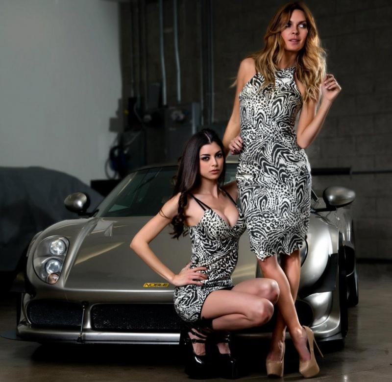 Club Sportiva Marina Del Ray Mar 01, 2013 West Coast Leather 2013 White Cheatah and tiger leather dresses by Skip Pas