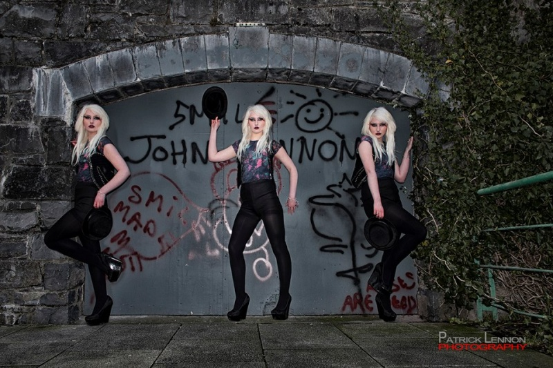 Female model photo shoot of Belle Morte Beauty and J Hanberry by Lennon Photographic in Galway