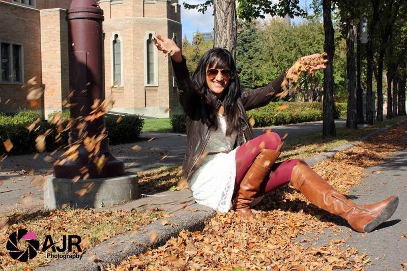 Female model photo shoot of AJR Photography YYC in Calgary