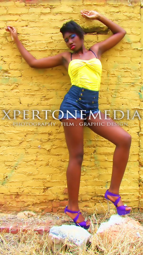 Female model photo shoot of  Princess Indyra