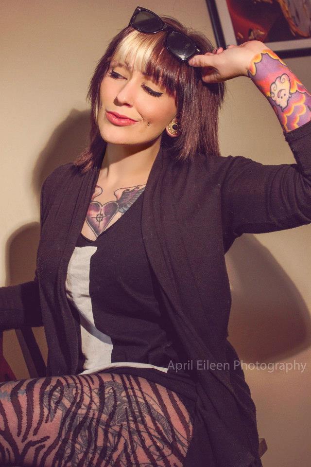 Female model photo shoot of AprilEileen Photography and erbear in Fredericksburg VA
