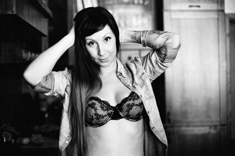 Female model photo shoot of Alexeaa in Prague