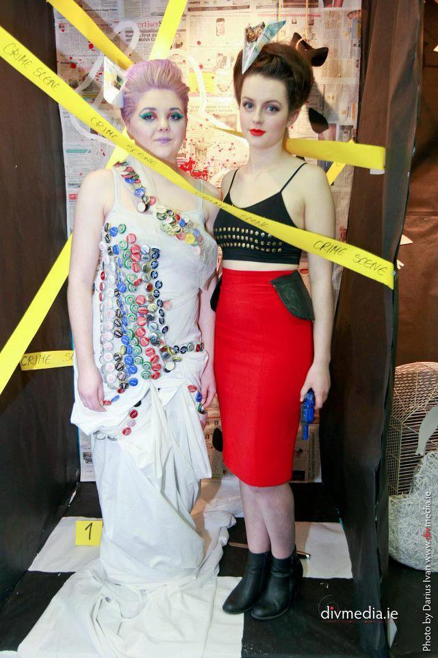 Female model photo shoot of Belle Morte Beauty in GTI Open Day / Fashion Fiesta