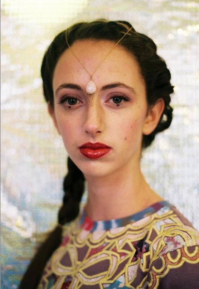Female model photo shoot of Nicolette Clara - Photo in london, wardrobe styled by Jenna Rosalind