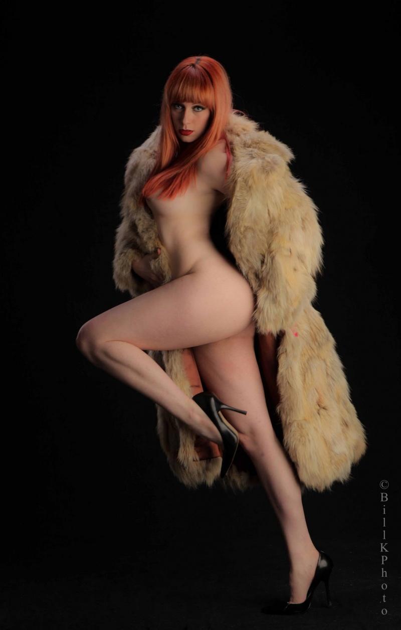 Male and Female model photo shoot of BillK Photo and Kearstin in Sandbox Studio, Chicago