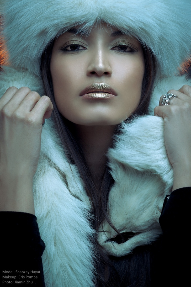 Redmond WA Mar 12, 2013 Model: Shanzay Hayat   Photographer: Jiamin Zhu   Makeup: Cris Pompa 2013 - FUR Shoot