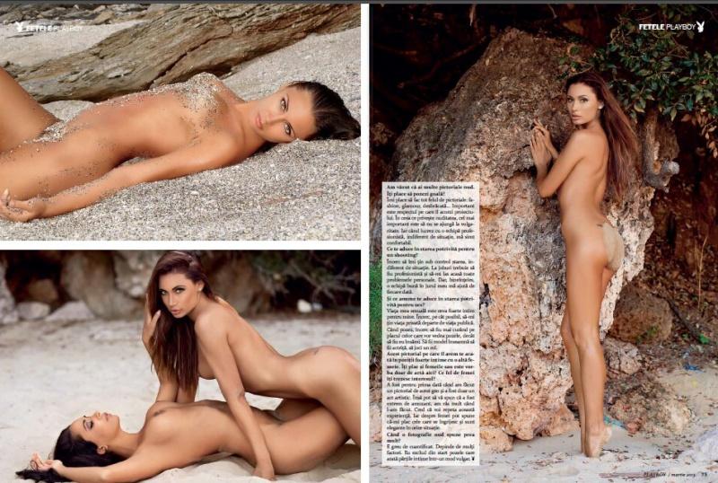Mar 12, 2013 Playboy Anna Grigorenko & Luna Sauvage in Playboy Romania March 2013