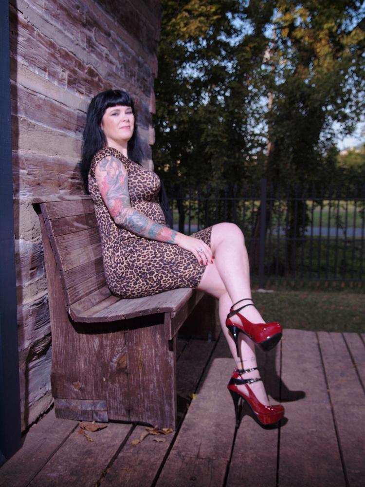 Female model photo shoot of AnastasiaFoxx by Bob Kerner in Murfreesboro, TN