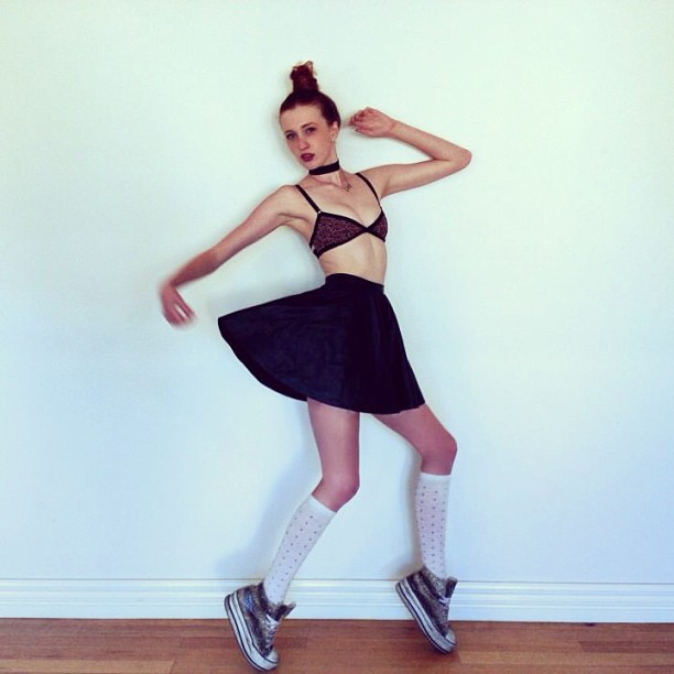 Mar 13, 2013 Leather skirt