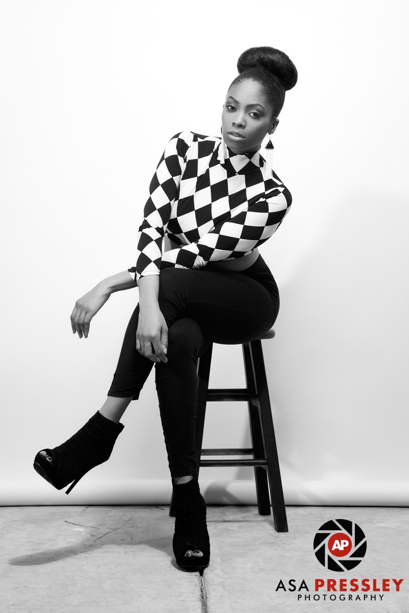Female model photo shoot of Ariel Gazelle by Asa Pressley