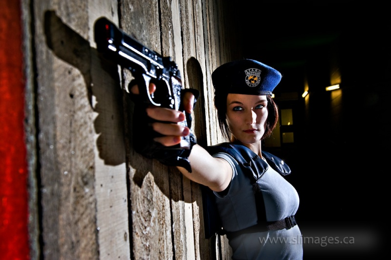 Ottawa, Ontario Mar 19, 2013 Jill Valentine shoot (blue contacts in use)