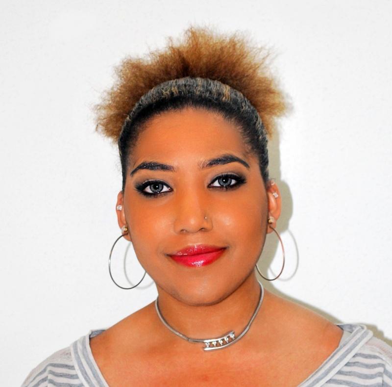 Female model photo shoot of KiPanii MoniiKe by Urban Expressions, makeup by Patrice Renee Beauty