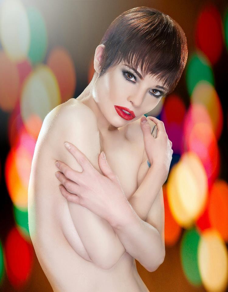Female model photo shoot of T