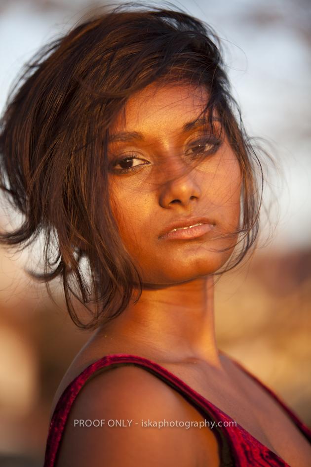 Dark skin indian women
