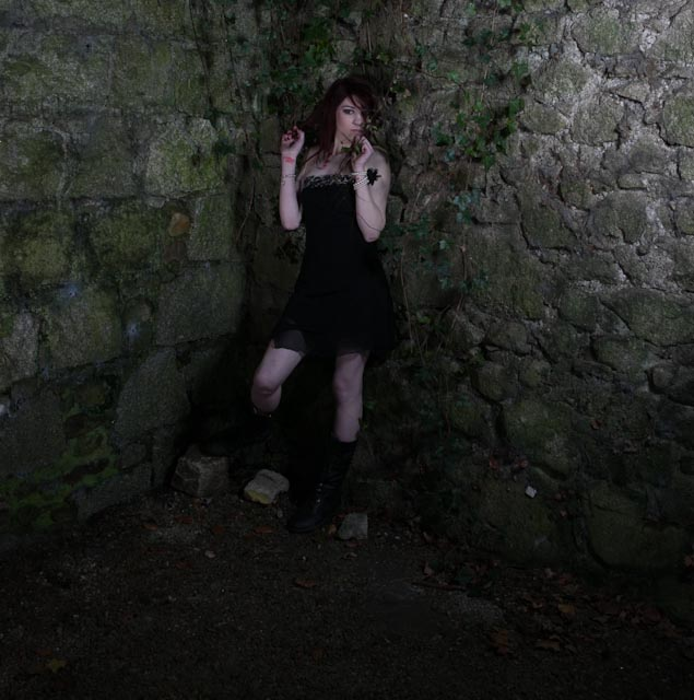 Female model photo shoot of Lisa Neary by Adrian Hogan  in Ducketts Grove Carlow, makeup by Denise Neary