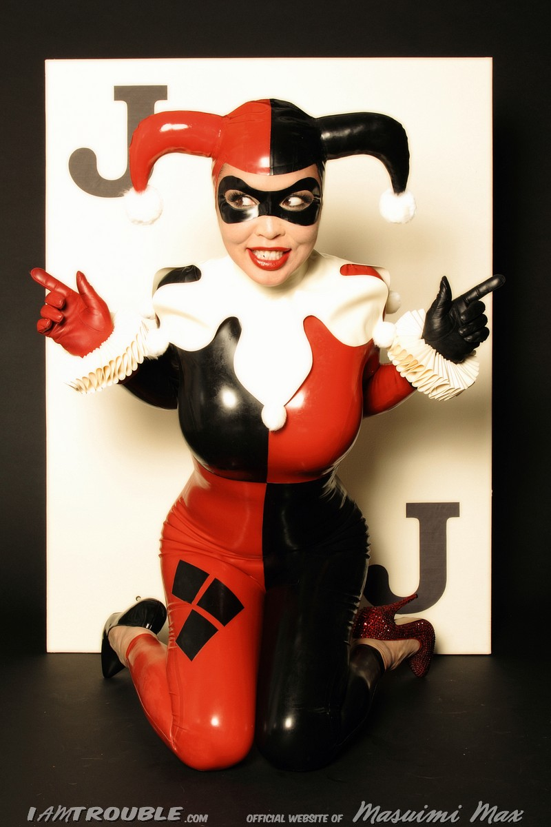 Mar 27, 2013 http://iamtrouble.com 2013 Harley Quinn Cosplay - Masuimi Max