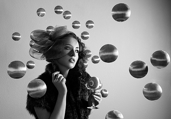 Female model photo shoot of Digital Adagio