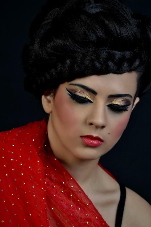 Female model photo shoot of InkedBlondieDesigns by RW Photography UK