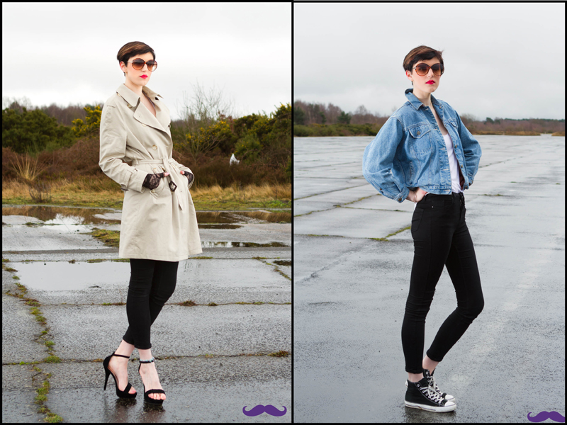 Male and Female model photo shoot of NickStuckeyPhotography and Kitt Moss  in Blackbushe, makeup by Deeps24