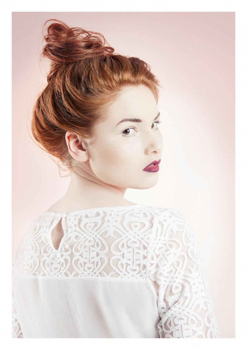 Female model photo shoot of Eren Saygilier Makeup