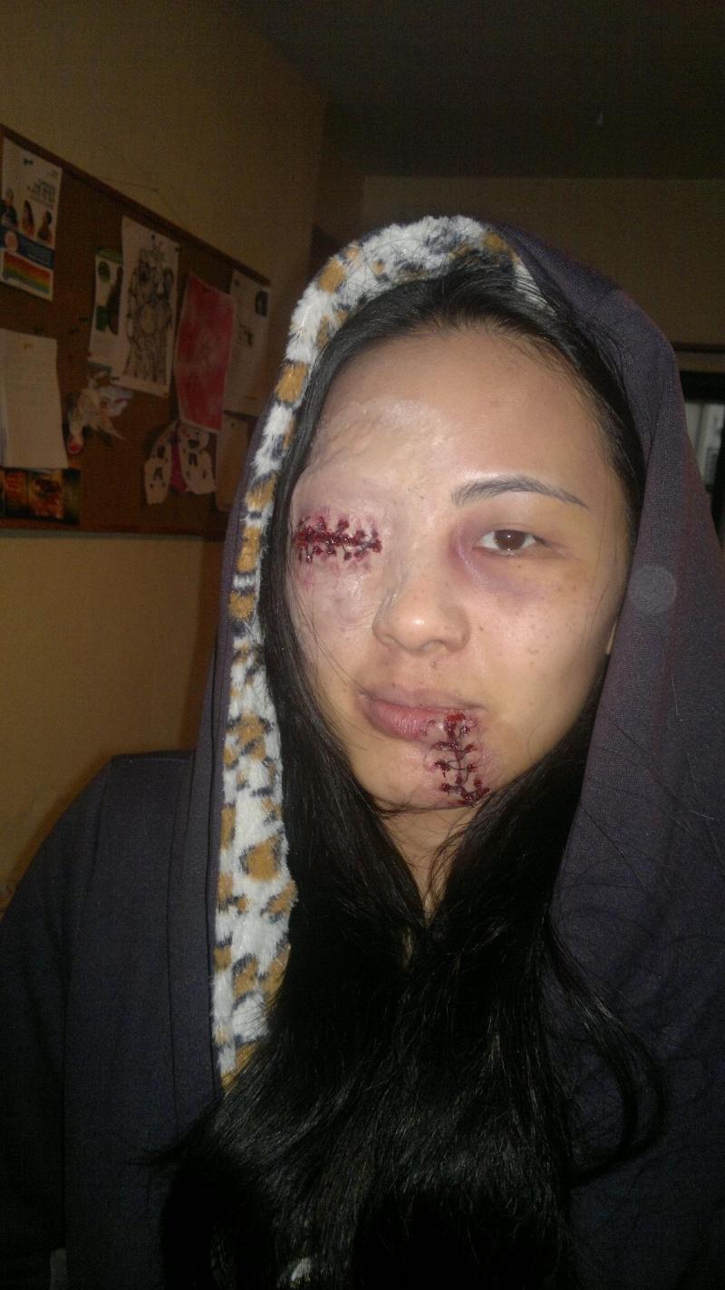 "Apr 07, 2013 GoreWhorefx Makeup for a ""Hostel "" party"