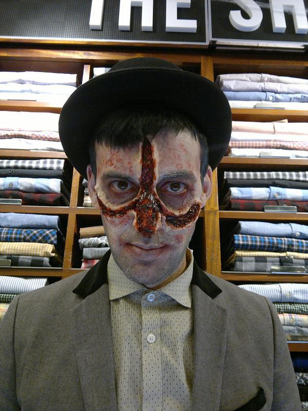 Was taken at Carnaby Street Ben Sherman for Halloween Apr 09, 2013 www.bensherman.co.uk Lukecifer- http://www.bensherman.com/blog/?p=4560