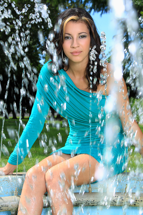 Female model photo shoot of Ariana Covarrubias