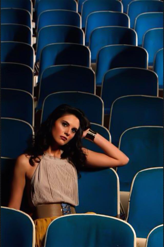 Female model photo shoot of Terri Christina by Robert Sutton in Bama Theatre