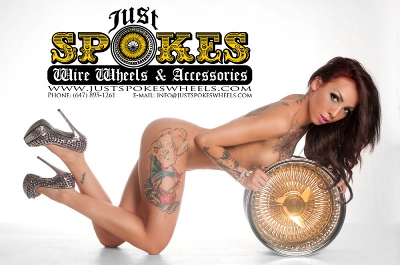 Apr 12, 2013 ©2013 Paul Venomous – All rights Reserved Just Spokes Wheels Ad Campaign 2013
