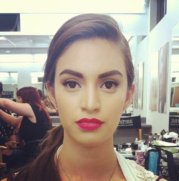 Female model photo shoot of Renee Ryans in Costa mesa, makeup by Renee Ryans