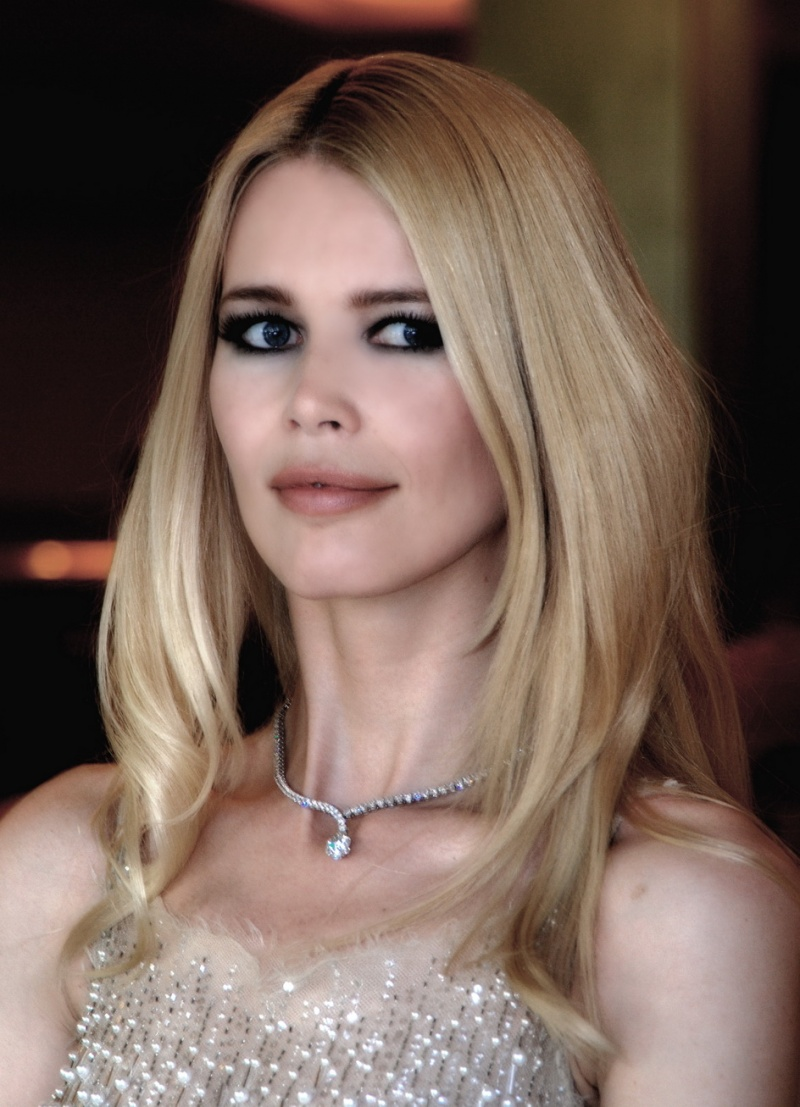 Cannes Apr 19, 2013 Pat Denton Claudia Schiffer