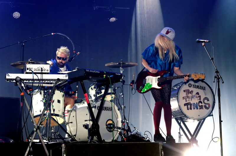 Cannes Apr 19, 2013 Pat Denton The Ting Tings