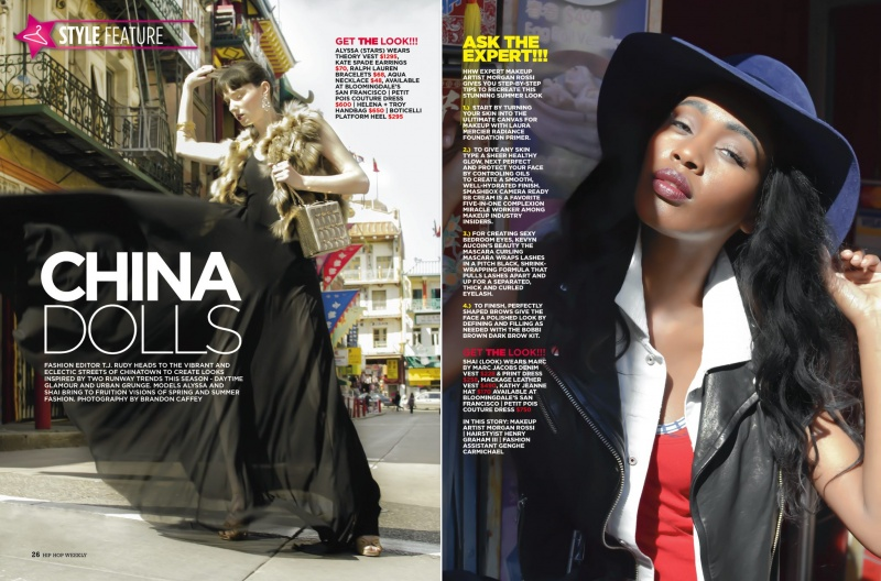 Apr 19, 2013 Published Hip Hop Weekly, Clothing from Bloomingdales, SF