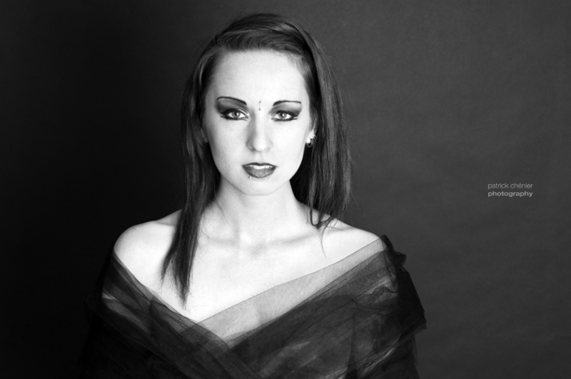 Female model photo shoot of Mango Anthropy by Patrick Chenier in Calgary