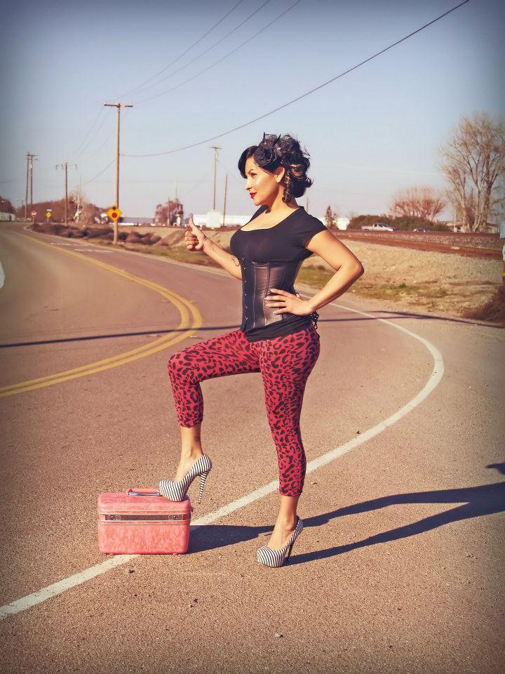 Female model photo shoot of Jaded K in Stockton