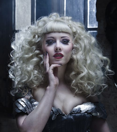 Female model photo shoot of Miss Julietta la Doll