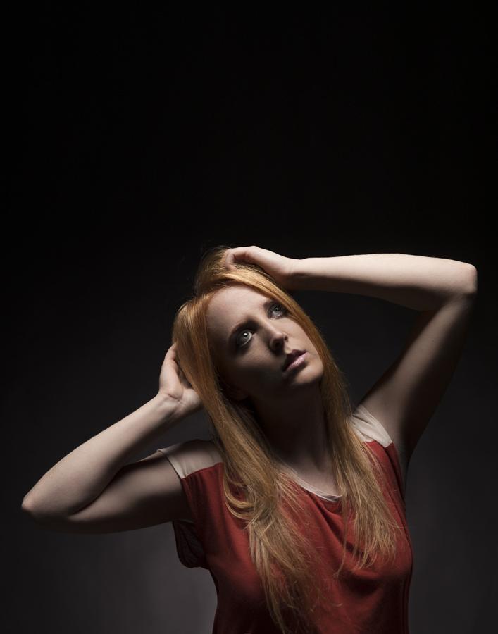Female model photo shoot of A House Photography