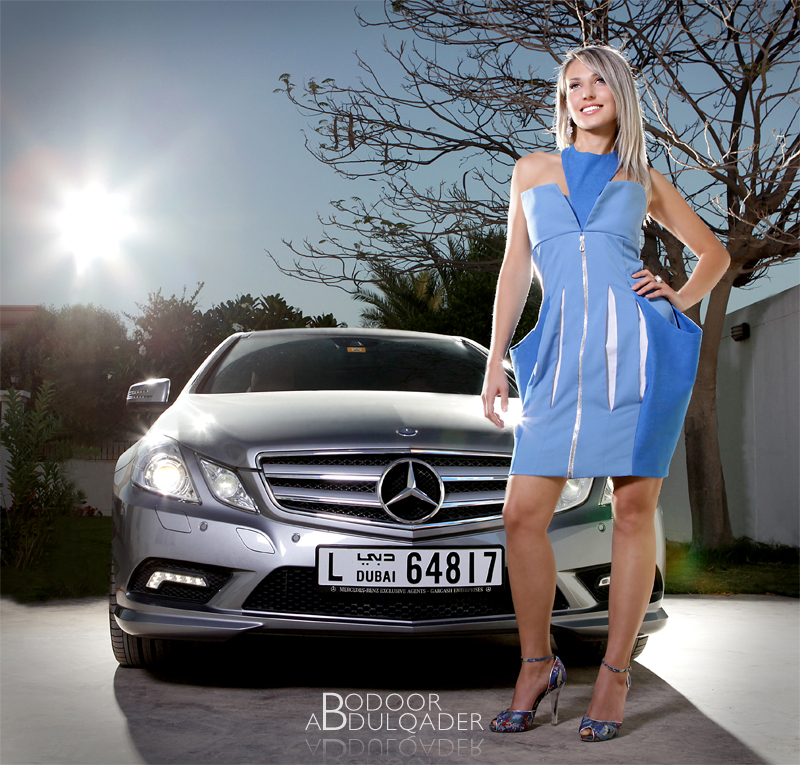 Dubai, UAE Apr 24, 2013 Ahmed Abdulqader Bodoor Mercedes Dress