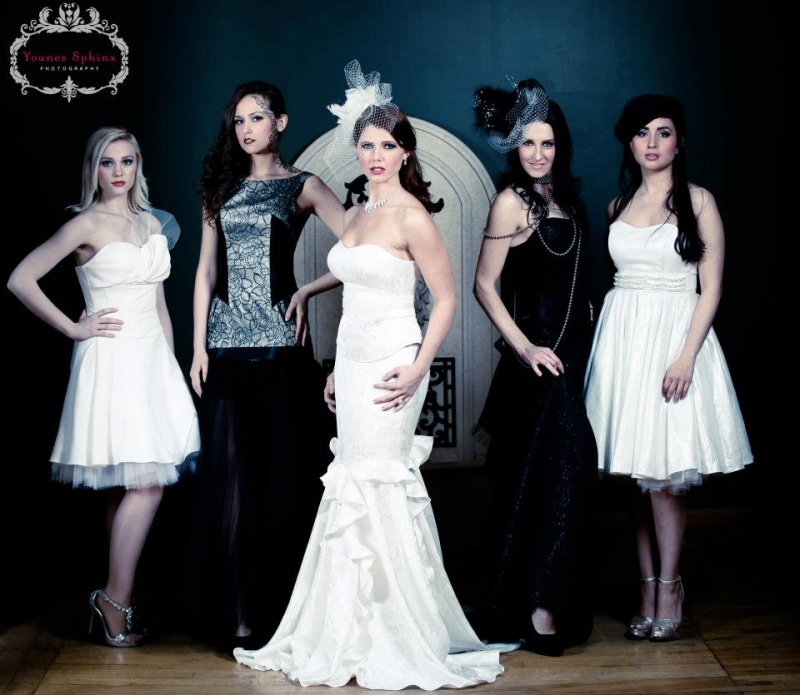 Apr 27, 2013 My bridal party -Clothing Designer:  Polina Pantyushina