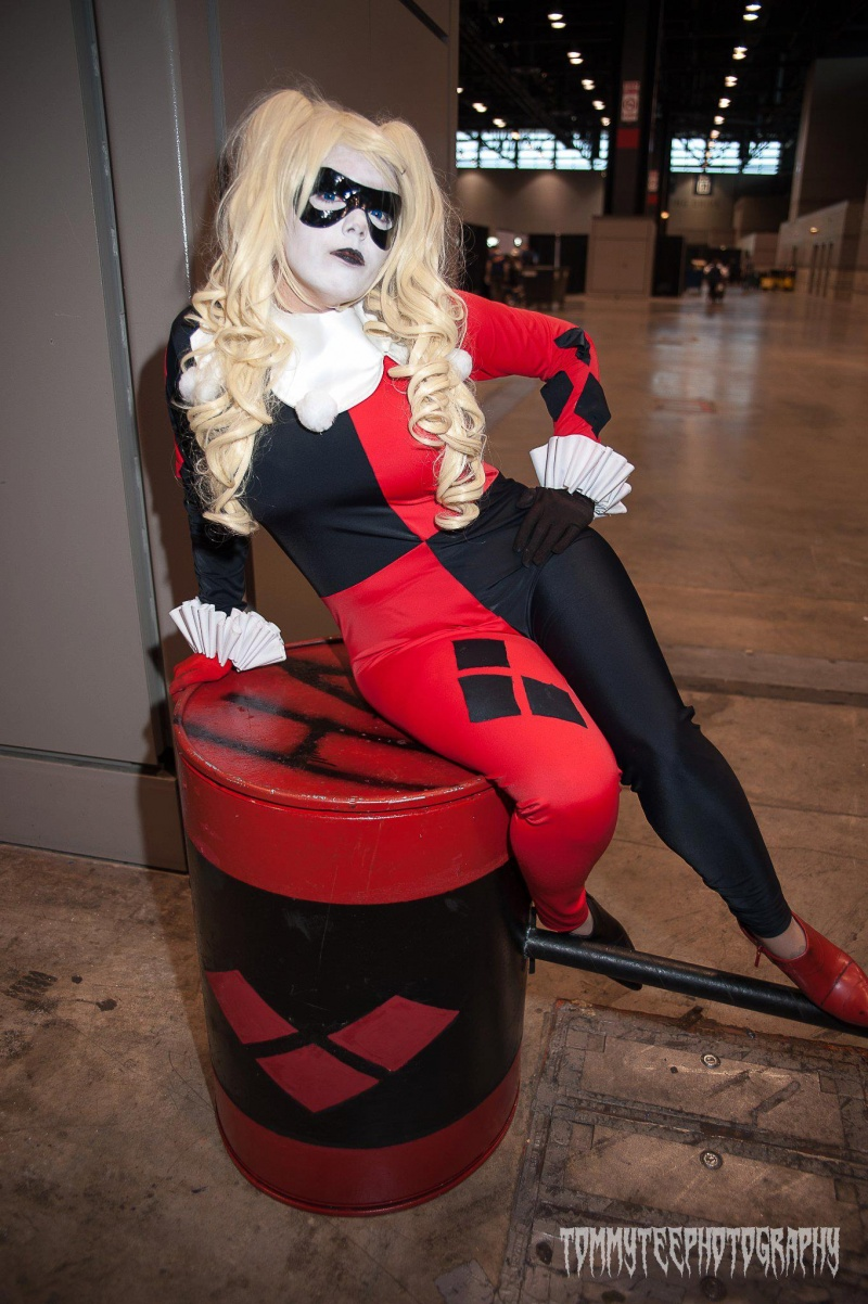 C2E2, Chicago, IL Apr 30, 2013 Tommy Territt Photography Cosplay Harley Quinn